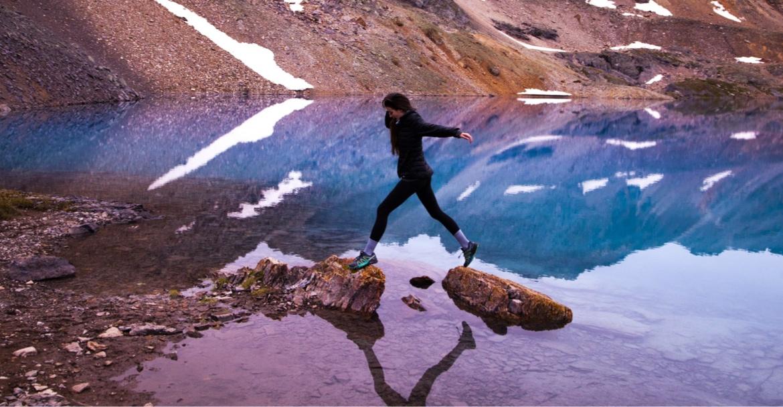 hiking water