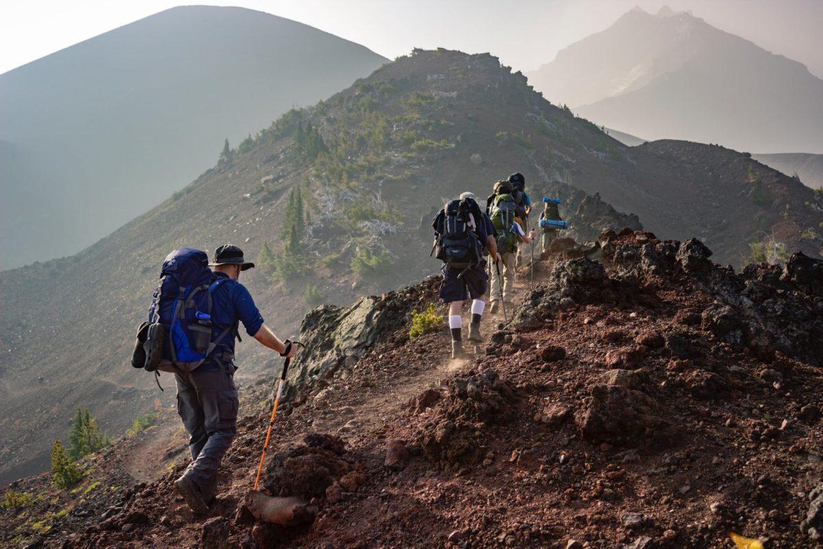 hiking pole benefits